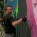 Graffitikünstler Frank Kühr