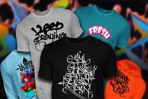 Graffiti Shirts Banner
