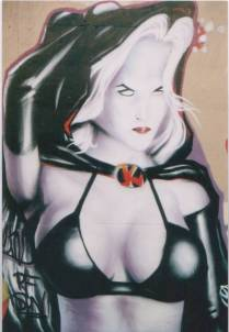 fantasy woman, Nice, hall of fame, 2002, krem.