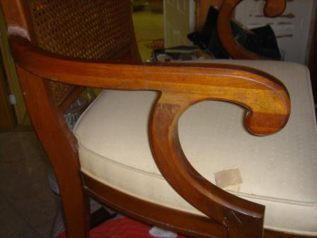 How to Fix A Chair Leg Support