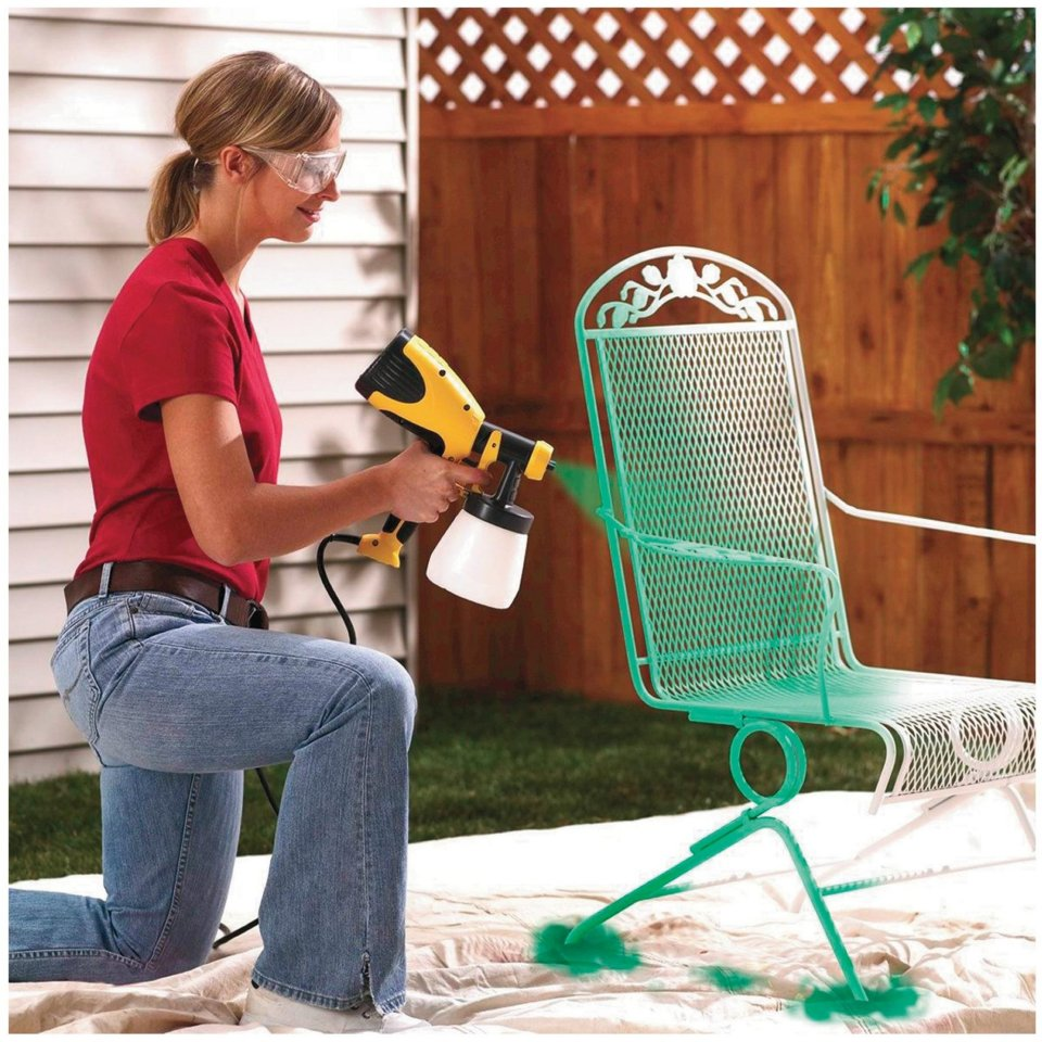 How to use an airless paint sprayer
