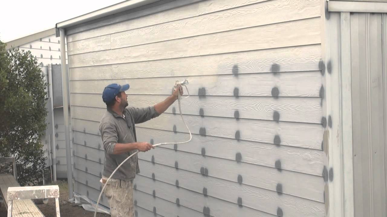 Exterior Wall Paint : How to spray paint a house with the best sprayer