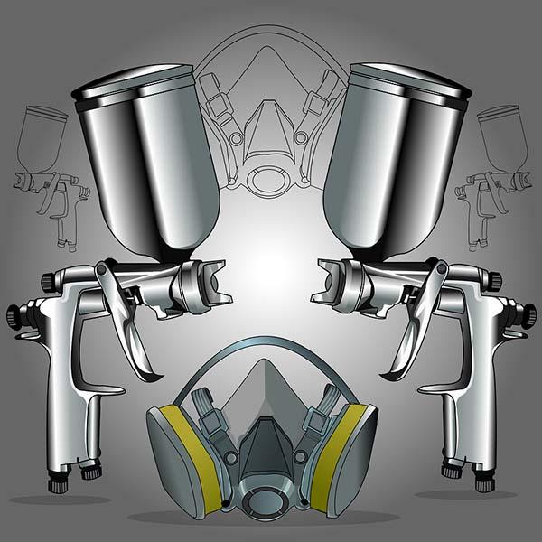 hvlp turbine spray gun