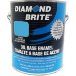Diamond Brite Paint 31550 1-Gallon Oil Base All Purpose Enamel Paint