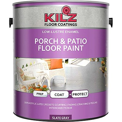 KILZ Interior-Exterior Enamel Porch & Patio Latex Floor Paint