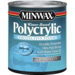 Minwax 63333444 Polycrylic Protective Finish Water Based
