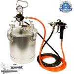 TCP Global Pressure Tank Paint Spray Gun