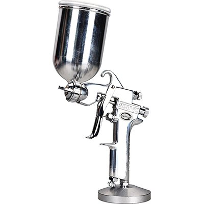Valianto NEW71-G Air Powered HVLP Gravity Feed Spray Gun Silver Nozzle Size 1