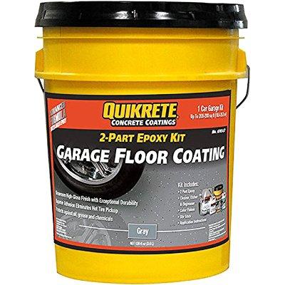 Quikrete Garage Floor 2-Part Epoxy Gray kit