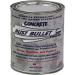 Rust Bullet RBCONQ Metallic Gray Protective Floor Coating for Concrete