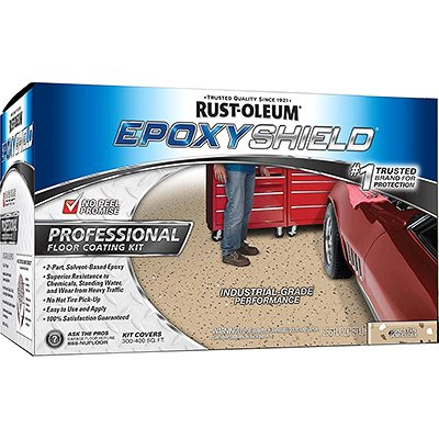 Rust-Oleum 238466 Professional Floor Coating Kit