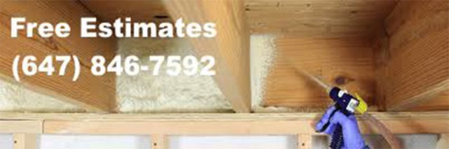 Reliable foam insulation service in Oshawa