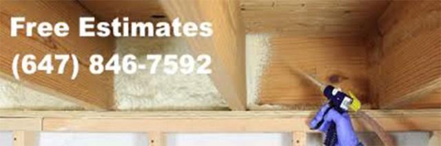 Reliable spray foam insulation service in Burlington
