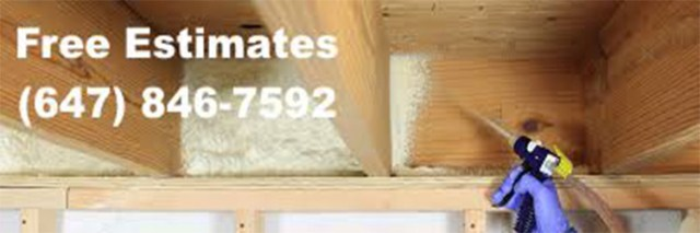 Reliable foam insulation service in Vaughan