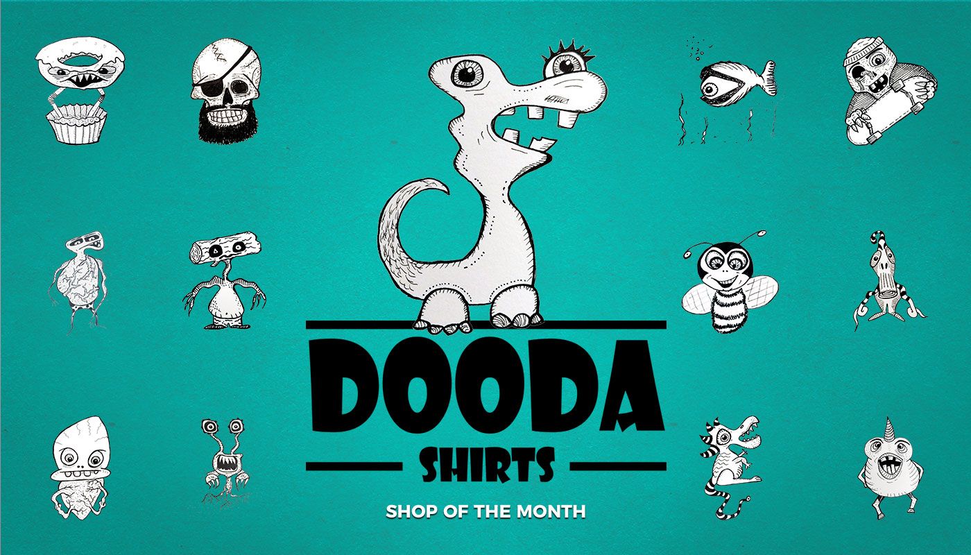 Doodle Dad March Shop Of The Month The Spreadshop Blog