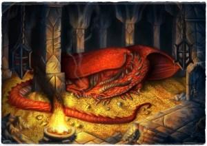 Smaug- opasni crveni zmaj koji spava na ukradenom zlatu napaćenog naroda- ne znaš je li riječ o ekranizaciji fantasy knjige ili standardnoj nedjeljnoj propovijedi Valentina Pozaića.