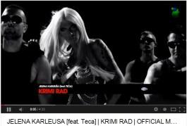 U prilog Karleuši ide i činjenica što se jedna pjesma zove Krimi rad, što bi mogla postati i neformalna himna ove stranke.