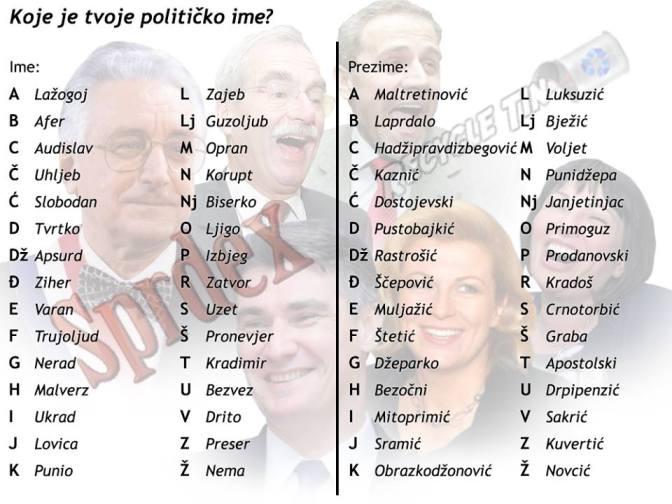 koji si političar