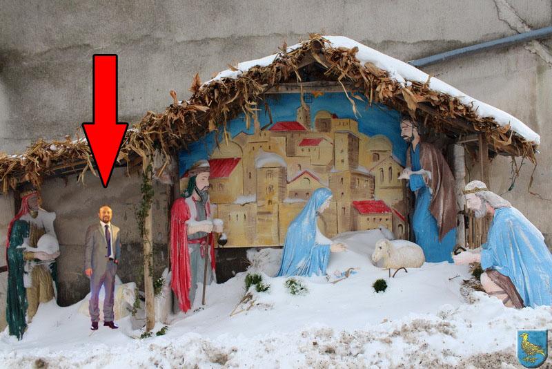 Tepeš je poslije priznao i da bi po noći spavao u krevetiću malog Isusa