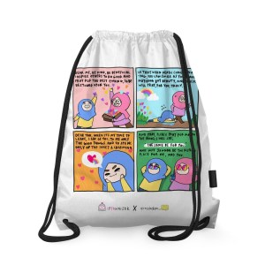 Be Beneficial Drawstring Bag