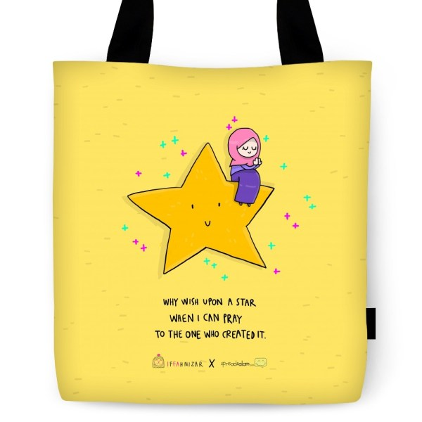 Why Wish upon a Star Tote Bag