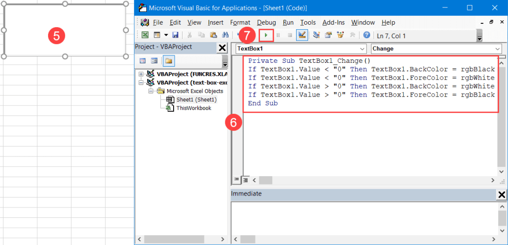 Set up conditional formatting in VBA