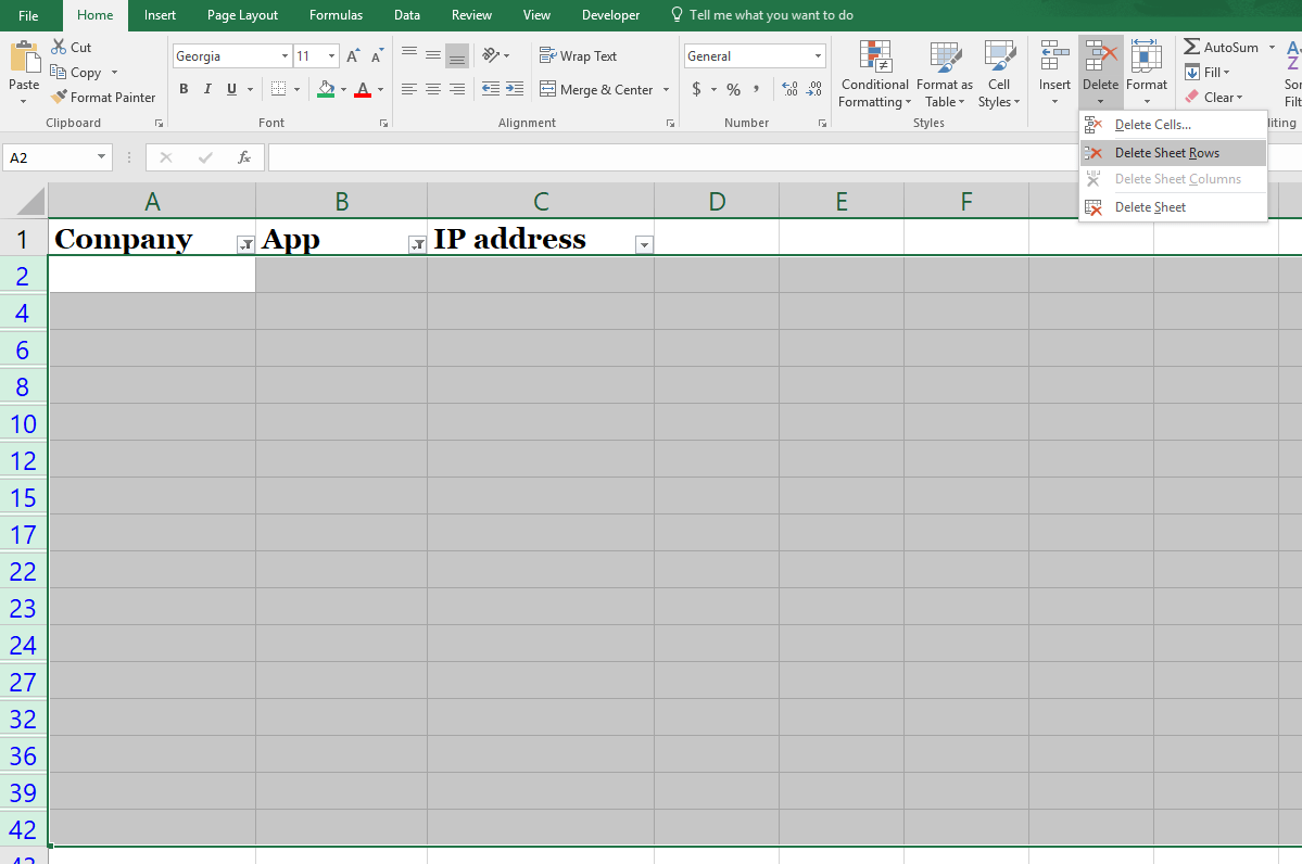 How To Delete Blank Rows In Excel The Right Way