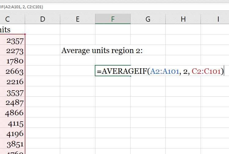 How To Use The Excel Functions Averageif And Averageifs