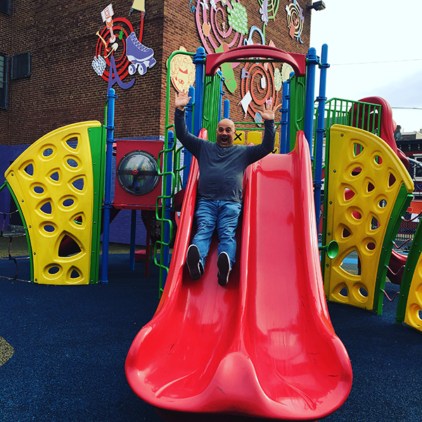 Frankie at Chester A Arthur School