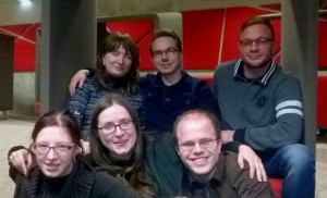 Sprechtraining Dresden Gruppenbild Dezmeber 2014