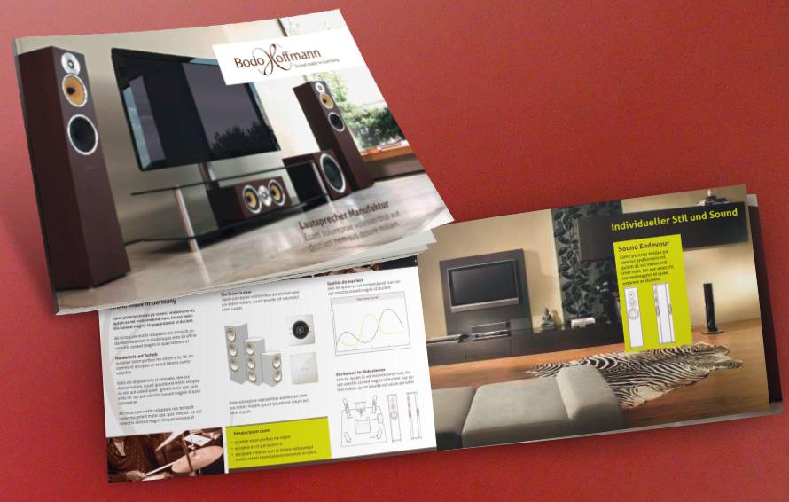 Konzept und Gestaltung Broschüre