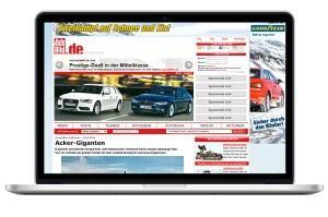 AutoBild.de mockup website
