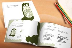 """Design Manual für den Verlag """"Das wilde Dutzend"""""""