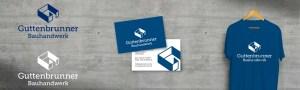 Corporate Design und Logoentwicklung für Guttenbrunner Bauhandwerk