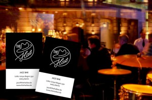 The Hat Jazz Bar Visitenkarten Berlin Charlottenburg