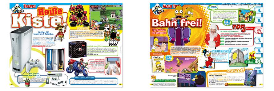 Geststaltung Magazin, Kindermagazin Gestaltung