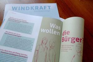 BWE Akzeptanzmagazin, Windkraft, Eine Bürgerenergie, Detail