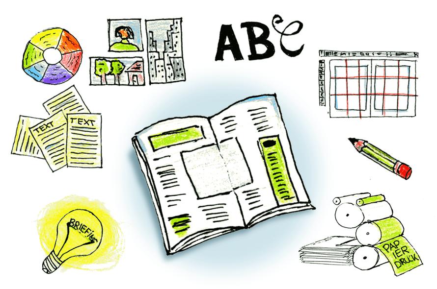 Illustration, vom Briefing zum Druck