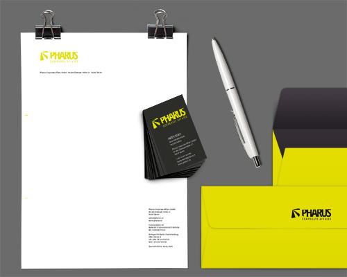 Pharus, Corporate Design, Logo