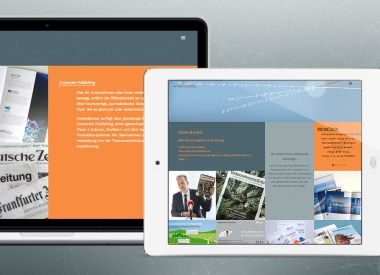 Website mit Wordpress, wordpress, CSS, responsive, Konzept, Gestaltung
