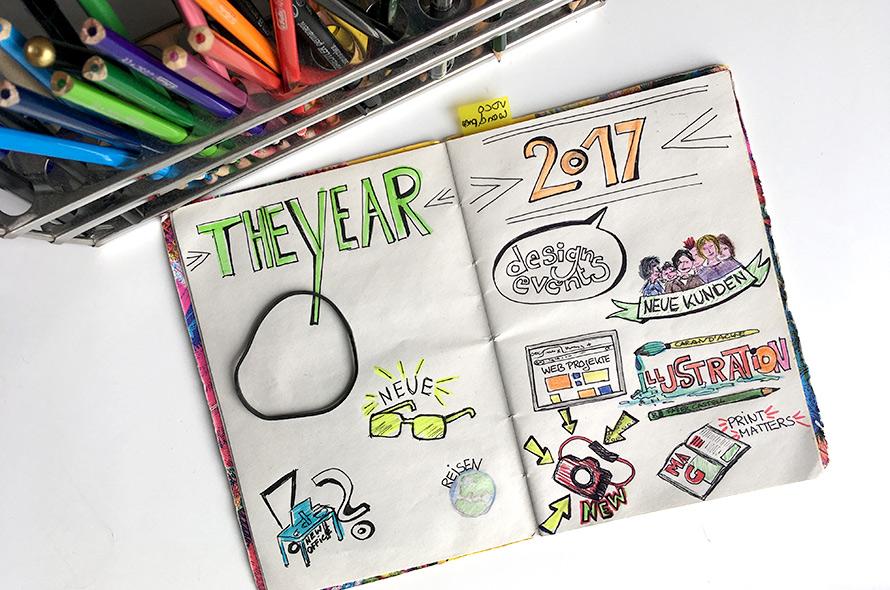 Sketchnotes, Illustrationen, Sketchbook