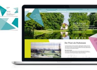 Redesign Pitch Fürst Pückler Corporate Design