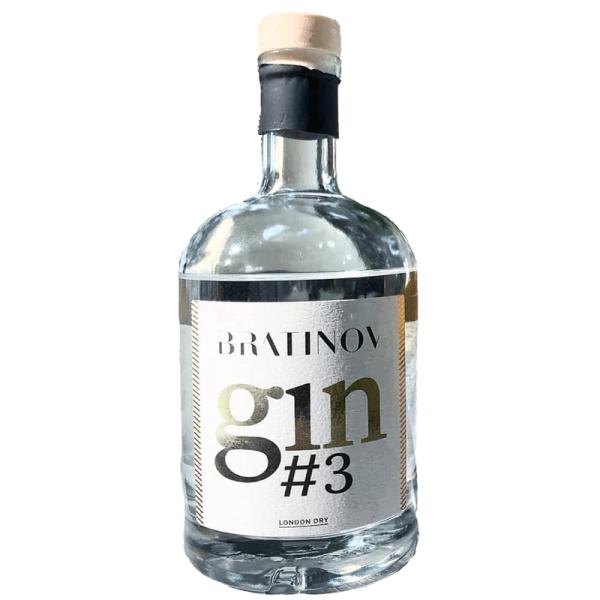 Slovenski gin Bratinov gin #3