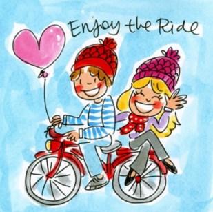 Spreuk fietsen
