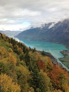 View from Harder Kulm