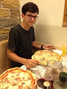 Hunter's 4 cheese pizza