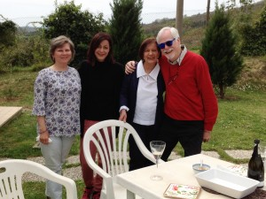 Cathy, Anna, Rossella, Steve