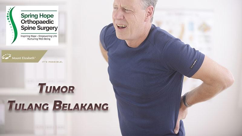 Tumor Tulang Belakang - Salah Satu Penyebab Sakit Pinggang