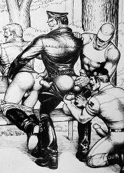 Illustration fra Kake, Pleasure Park, 1975