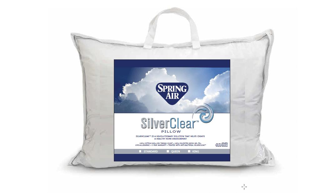 spring air pillows 100 cotton cover